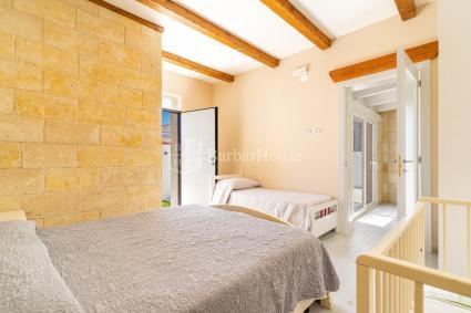 Bathroom with sofa