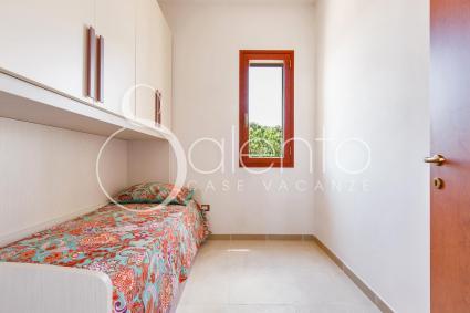 La camera singola della casa vacanze a Torre Lapillo