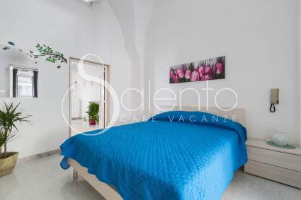 La camera matrimoniale di Casa Angiulina, in affitto per vacanze nel Salento