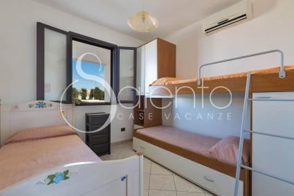 The triple bedroom is ideal for families with children