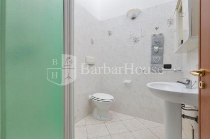 Il bagno doccia, in tutta la sua semplicità