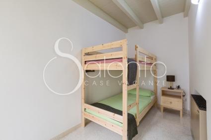 La camera doppia con letto a castello