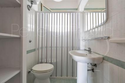 Il bagno doccia della casa vacanze vicino Porto Cesareo