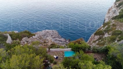 Villa Li Funni vista drone