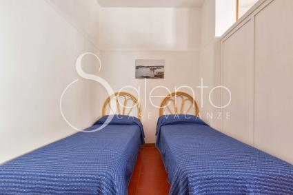 La quarta camera da letto è una doppia e si trova al pianterreno