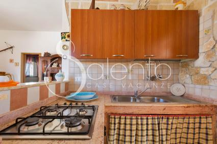 The kitchenette of the holiday home for rent
