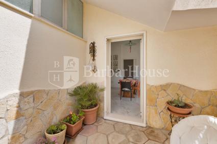 Il pozzo luce della casa vacanze in affitto nel Salento