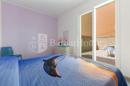 Le 2 camere matrimoniali sono accessoriate con aria condizionata