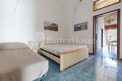 Master bedroom, for a romantic vacation by the sea in Salento