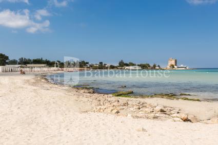 La spiaggia vicina alla casa vacanze in affitto sul mare di Nardò