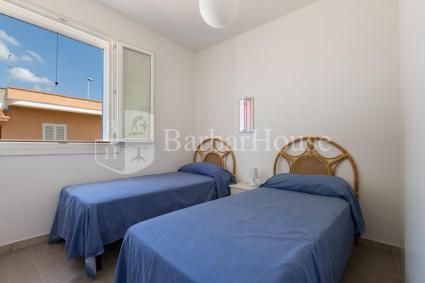 La camera doppia dell`appartamento per vacanze sul mare di Nardò