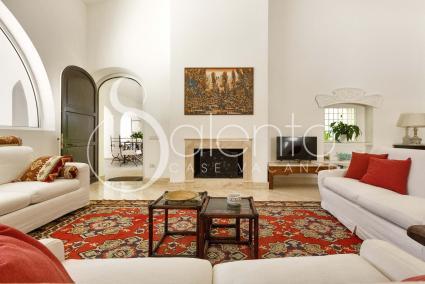 Ricercato ed esclusivo, il soggiorno è accogliente per gli ospiti