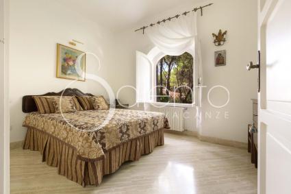 Splendida vista sulla pineta per la seconda camera da letto matrimoniale