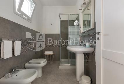 Tutte le camere sono dotate di bagno doccia en suite