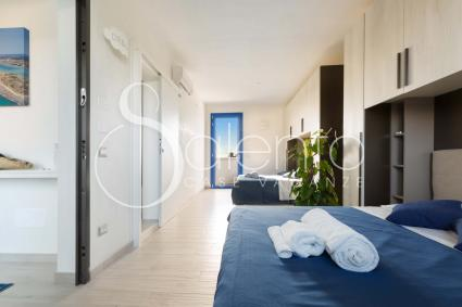 Bedroom 2 is furnished with 2 double beds to accommodate 4 people