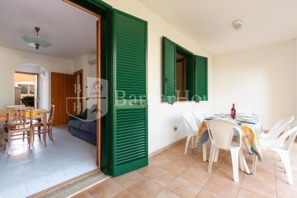 the external veranda for exclusive use