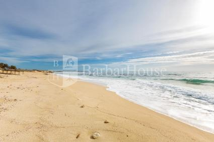 La spiaggia si trova a circa 300 metri dall`appartamento