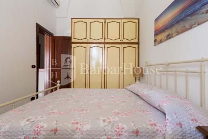 La seconda camera da letto matrimoniale