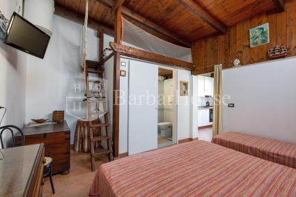 La camera da letto tripla, con piccolo soppalco