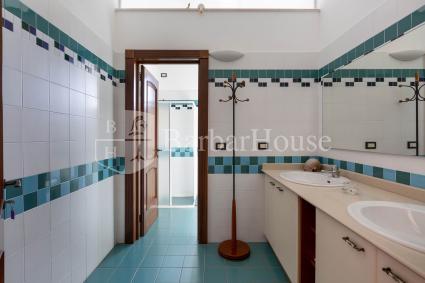 Il bagno della camera tripla
