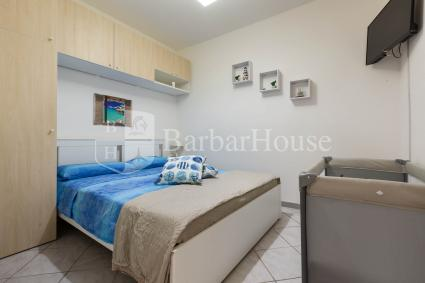 The sleeping area consists of 2 double bedrooms